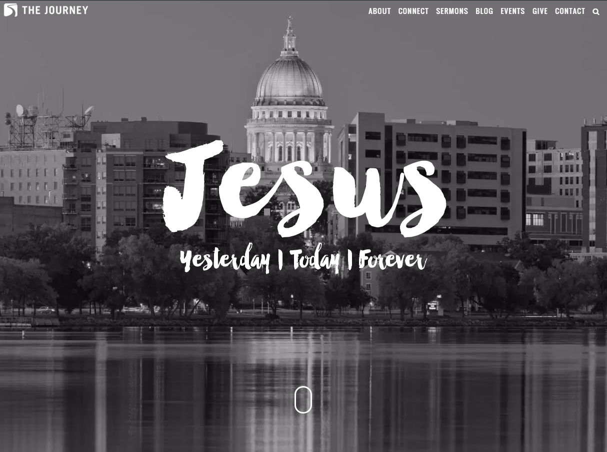 Journey Church Madison website redesign