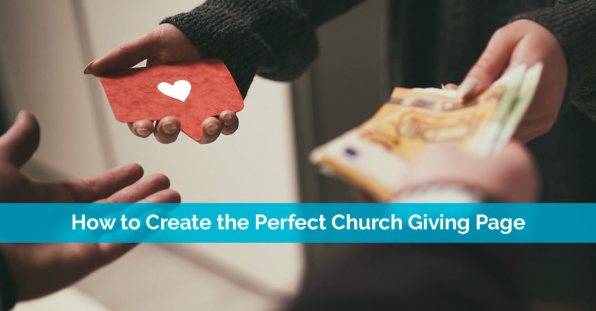 How to Create the Perfect Church Giving Page